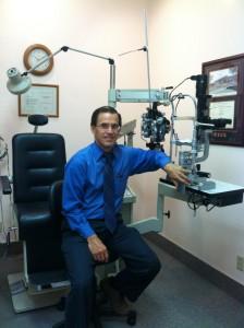 Dr Fabian, optometrist